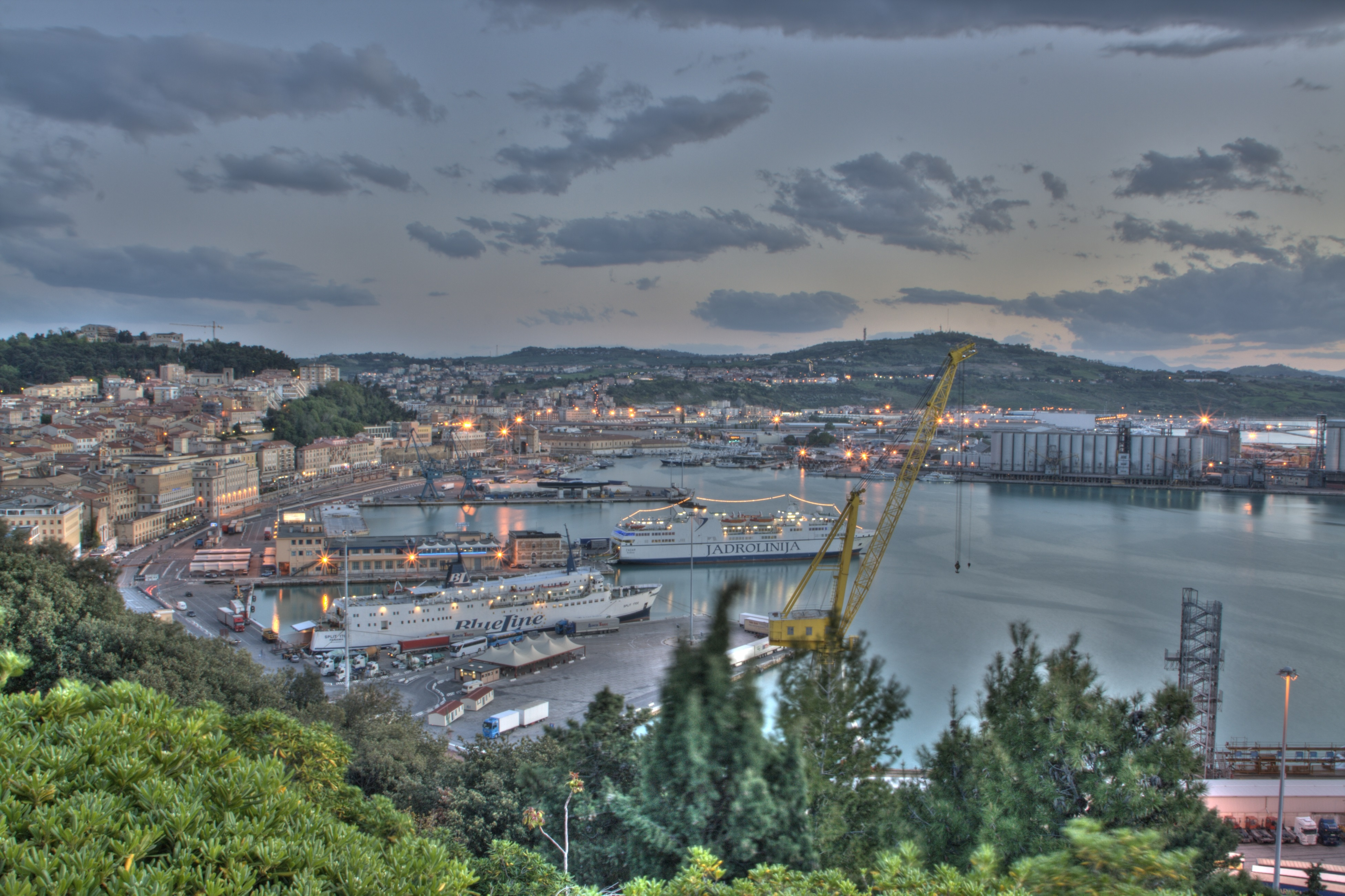 Ancona - Port Overview